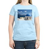 Santorini church T-Shirt