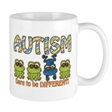 Autism: Dare to be Different Small Mug
