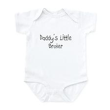 Daddy's Little Broker Infant Bodysuit