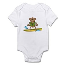 Monkey Surfer Infant Bodysuit