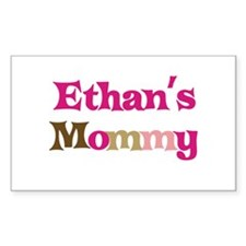 Ethan's Mommy Rectangle Decal