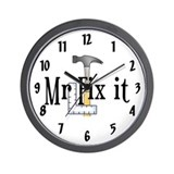 Mr Fix It Wall Clock