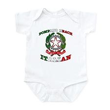 Pompano Beach Italian Infant Bodysuit