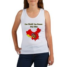 China in Handcuffs Women's Tank Top