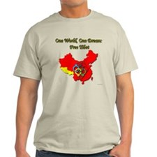 China in Handcuffs Light T-Shirt