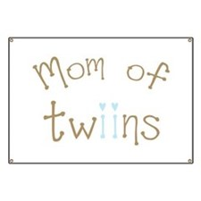 Mom of Twin Boys Banner