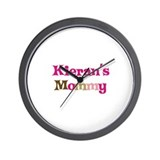 Kieran's Mommy Wall Clock