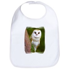 Cute Barn owl Bib