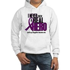 Never Knew A Hero 2 Purple (Daughter) Hoodie