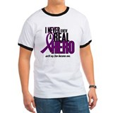 Never Knew A Hero 2 Purple (Son) T