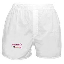 Patrick's Mommy Boxer Shorts