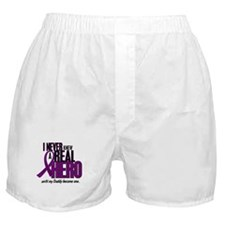 Never Knew A Hero 2 Purple (Daddy) Boxer Shorts