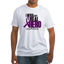 Never Knew A Hero 2 Purple (Wife) Shirt