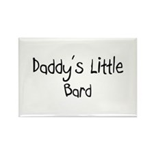 Daddy's Little Bard Rectangle Magnet (10 pack)