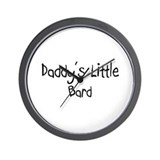 Daddy's Little Bard Wall Clock