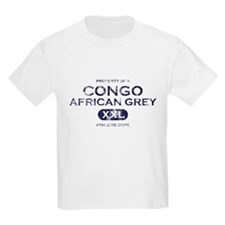 Property of Congo African Grey T-Shirt