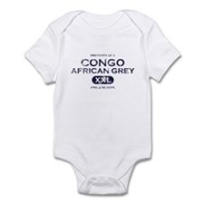 Property of Congo African Grey Infant Bodysuit