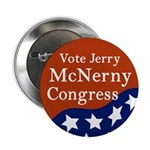 Jerry McNerny for Congress campaign button