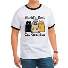 World's Best Cat Grandpa T