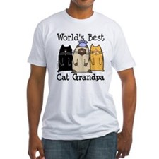 World's Best Cat Grandpa Shirt