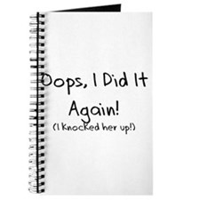 Oops! I did it again! Journal