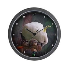 Cool Cockatoo Wall Clock