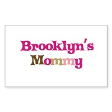 Brooklyn's Mommy Rectangle Decal