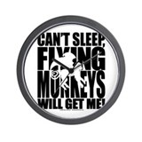 Can't Sleep, Flying Monkeys... Wall Clock