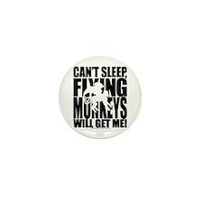 Can't Sleep, Flying Monkeys... Mini Button