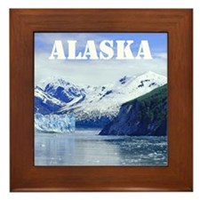 Beautiful Scenic Alaska Framed Tile