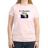 #1 Bosnian Mom T-Shirt