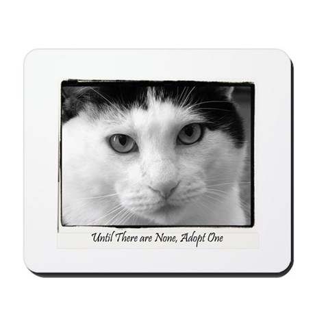 Until there are None framed c Mousepad