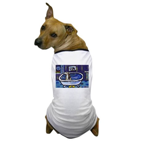 SALUKI takes bath Dog T-Shirt
