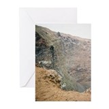 Mt Vesuvius View 1.5  Blank Cards (6)