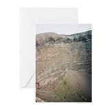 Mt Vesuvius Crater view 2.5 Cards (6)