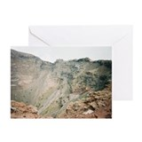 Mt Vesuvius Crater View 3  Blank Cards (6)