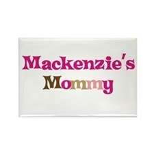 Mackenzie's Mommy Rectangle Magnet