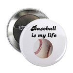BASEBALL IS MY LIFE Button