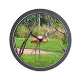 Unique Flamingoes Wall Clock