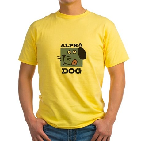 Alpha Dog Yellow T-Shirt