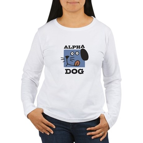 Alpha Dog Women's Long Sleeve T-Shirt
