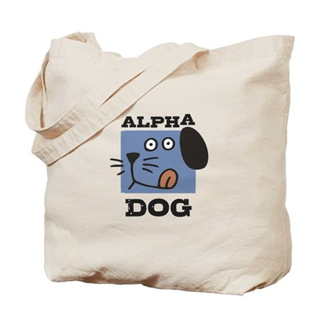 Alpha Dog Tote Bag