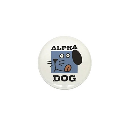 Alpha Dog Mini Button
