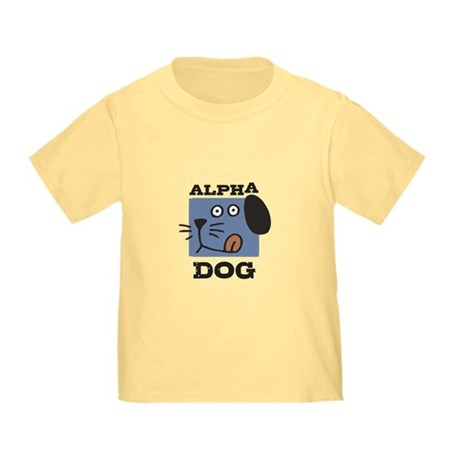 Alpha Dog Toddler T-Shirt