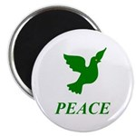 Green Dove Magnet