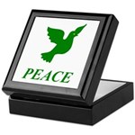 Green Dove Keepsake Box