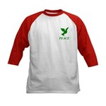 Green Dove Kids Baseball Jersey