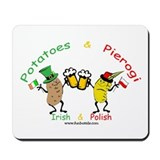 Irish &amp; Polish Mousepad