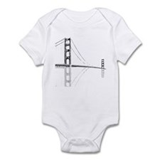 Golden Gate Faded Infant Bodysuit