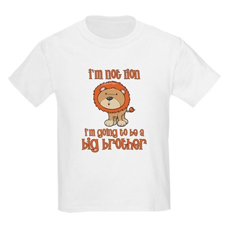 big brother t-shirts lion Kids Light T-Shirt